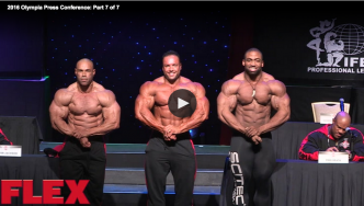 2016 Olympia Press Conference: Part 7 of 7