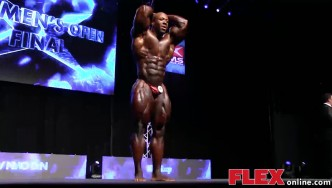Shawn Rhoden's Posing Routine at the 2014 IFBB EVLS Prague Pro