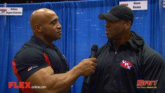 Shawn Rhoden Before the '14 Arnold Classic