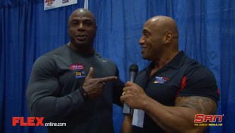 Toney Freeman Before the '14 Arnold Classic