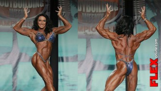 IFBB Pro Valerie Gangi Women's Physique Winner at 2013 Tampa Pro
