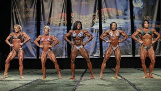 Comparisons - Women's Bodybuilding - 2013 Chicago Pro
