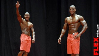 Xavisus Gayden NPC USA Mens Physique Overall Winner