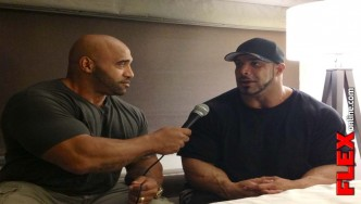 "Zack ""KING"" Khan Interview Before the 2013 Dallas Europa Pro - Part 1"