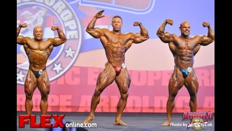 Mens Bodybuilding Amateur - 2013 Arnold Classic Europe