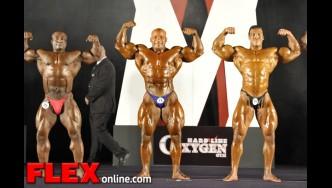 Over 100 kgs - Men's Bodybuilding - IFBB Amateur Olympia 2012