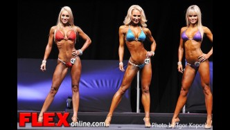 Comparisons - Bikini - IFBB Prague Pro