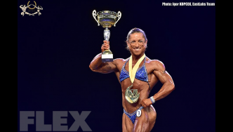 Women's Physique Awards - 2016 IFBB Mozolani Pro