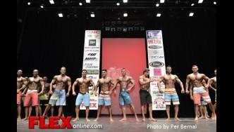 Comparison - Mens Physique - 2014 New York Pro Championships