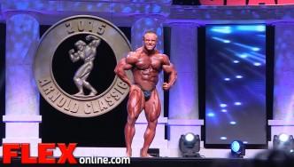 Aaron Clark's 2015 Arnold Classic 212 Posing Routine