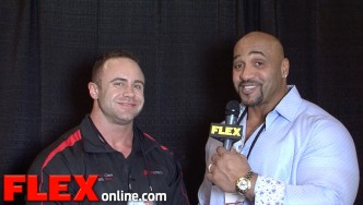Aaron Clark at the 2015 Arnold Sports Festival