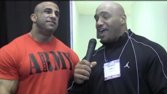 Fouad Abiad Before the 2013 Arnold Classic