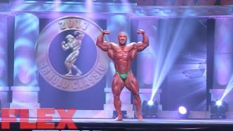 2017 Arnold Classic 212 Posing Routine: Ahmad Ashkanani