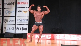 2016 IFBB Pittsburgh Pro Classic Physique Routine: Arash Rahbar