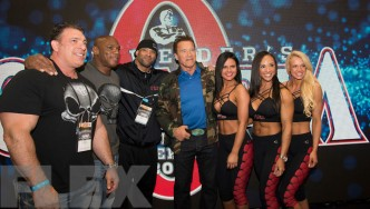 2017 Arnold Classic: The Weider Booth