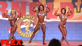2015 Arnold Physique International Highlights