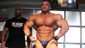 Mamdouh Big Ramy Elssbiay Days Before 2013 NY Pro