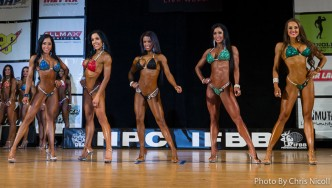 Bikini Comparisons - 2015 Pittsburgh Pro