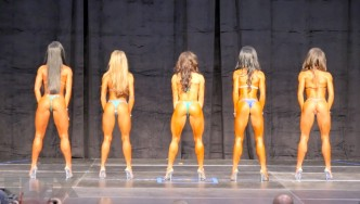 Bikini Pre-Judging Call Outs - 2015 IFBB Toronto Pro