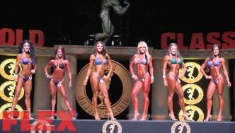2016 Arnold Classic Bikini Pre-Judging Highlights