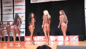 2016 IFBB Pittsburgh Pro Pre-Judging Highlights: Bikini