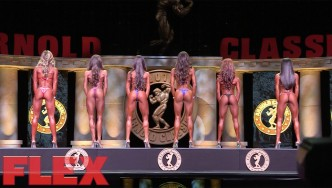 2017 Bikini International Pre-Judging Highlights