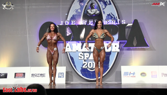 2016 Olympia Amateur Spain: Bodyfitness Overall