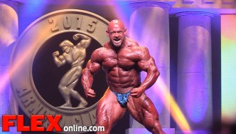 The 2015 Arnold Classic Posing Routine of Branch Warren