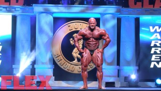 Branch Warren's 2016 Arnold Classic Posing Routine