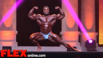 The 2015 Arnold Classic Posing Routine of Brandon Curry
