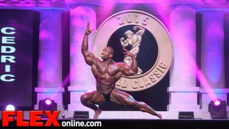 The 2015 Arnold Classic Posing Routine of Cedric McMillan
