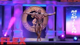 Cedric McMillan's 2016 Arnold Classic Posing Routine