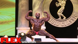 Charles Dixon's 2015 Arnold Classic 212 Posing Routine