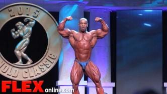 Cory Mathews' 2015 Arnold Classic 212 Posing Routine