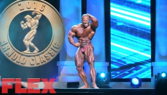2016 Arnold Classic 212 Posing Routine: David Henry