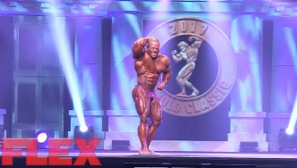 2017 Arnold Classic 212 Posing Routine: David Henry
