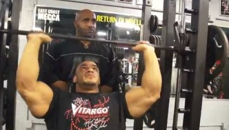 Dennis James Trains Mamdouh Elssbiay 3 Days Before NY Pro