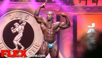 The Posing Routine of 2015 Arnold Classic Champ, Dexter Jackson