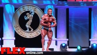 Eduardo Correa's 2015 Arnold Classic 212 Posing Routine