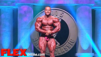 The 2015 Arnold Classic Posing Routine of Evan Centopani
