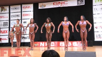 2016 IFBB Pittsburgh Pro Pre-Judging Highlights: Figure