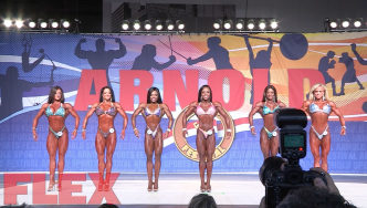 2017 Arnold Classic Figure Pre-Judging Highlights