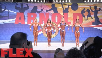 2017 Arnold Classic Fitness Pre-Judging Highlights