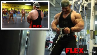 Flex Lewis Back Training Part 2, and Team Meet & Greet