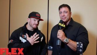 2016 Olympia Athlete Meeting: Flex Lewis