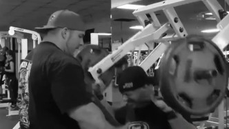 Flex Lewis Shoulder Workout - Teaser