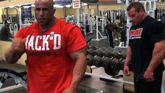Fouad Abiad Back Workout 10 Days from 2013 Toronto Pro