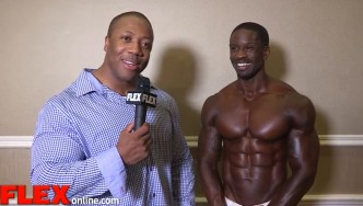 2015 NY Pro Men's Physique Champion: George Brown