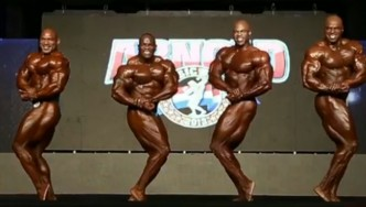 IFBB Pro Bodybuilding Comparisons from the 2013 Arnold Brazil
