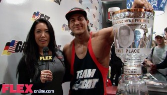 Sadik Hadzovic at the 2015 Arnold Sports Festival